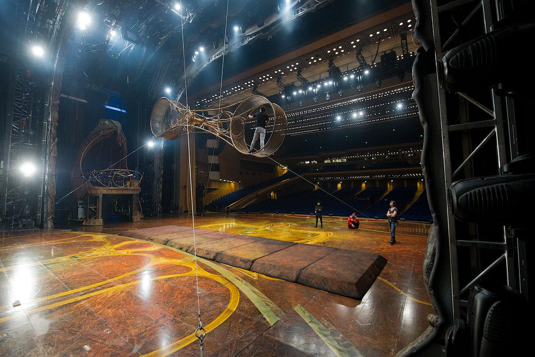 2254 Cirque du Soleil в Кремле