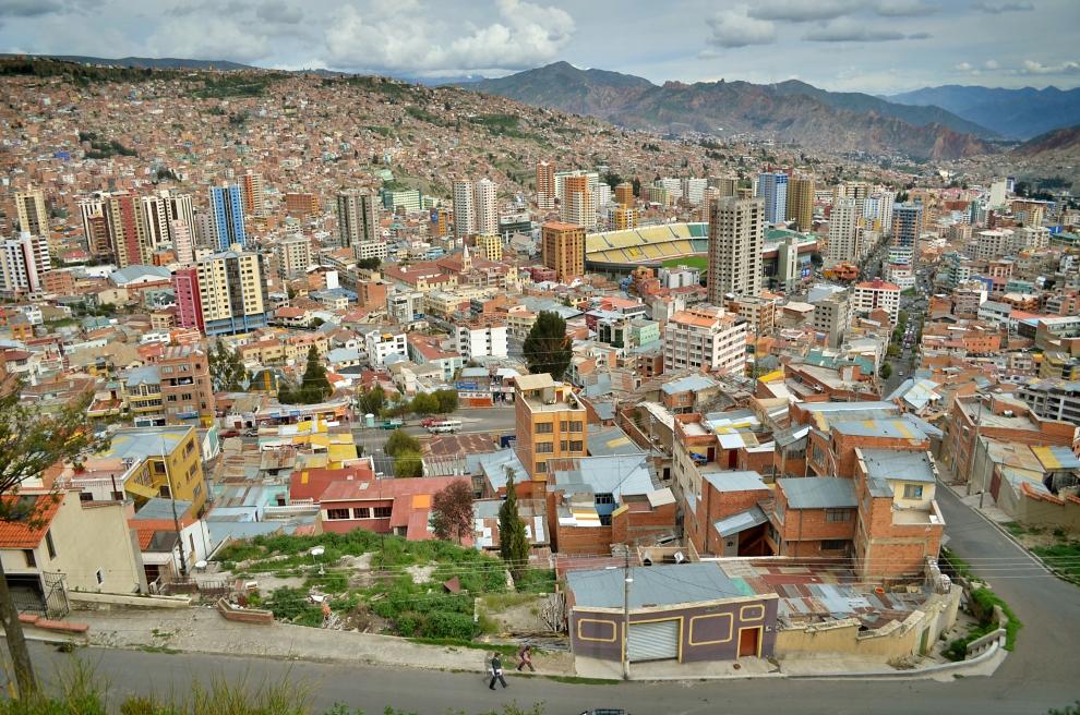 2295 Ла Пас   самая высокогорная столица мира с высоты