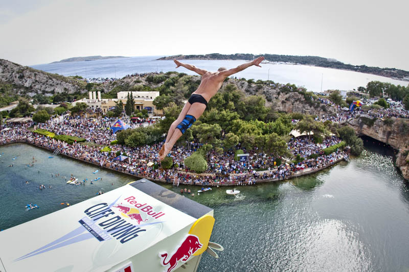 2332 Лучшие фото с Red Bull Cliff Diving