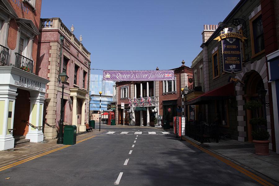 2401 Universal Studios в Лос Анджелесе