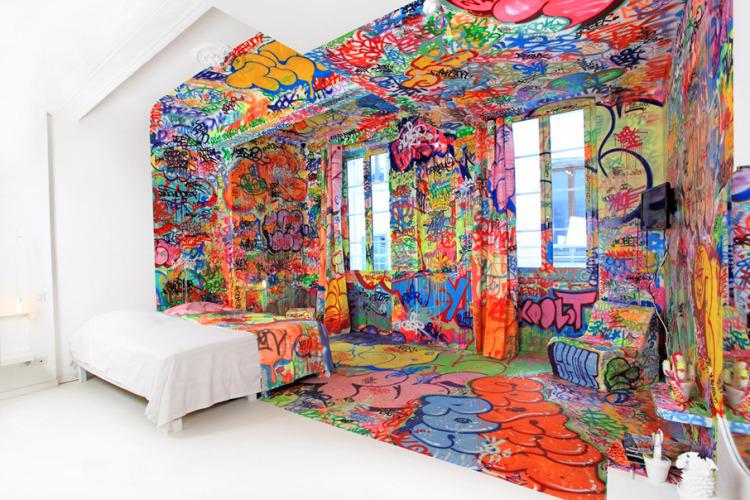 2404 Комната для любителей граффити