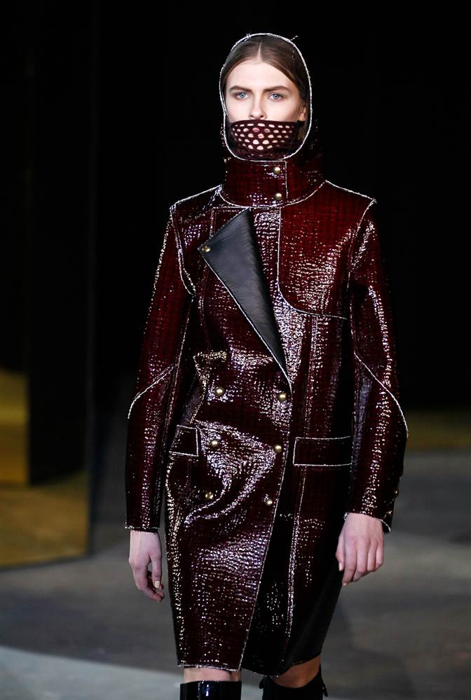 2427 Странные наряды на Нью йоркской неделе моды