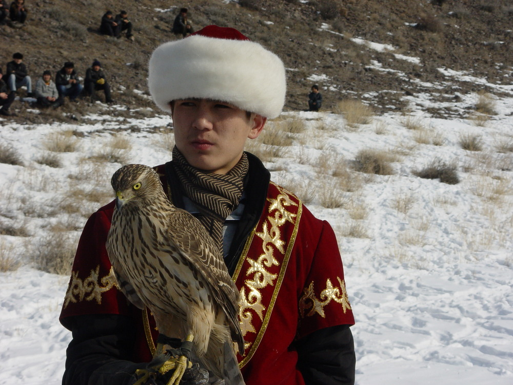 2440 Фоторепортаж с соревнований по охоте с ловчими птицами