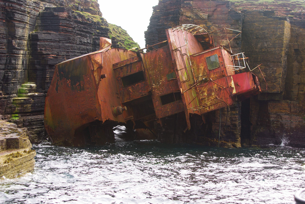 2537 Живописные последствия кораблекрушений