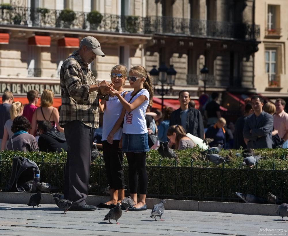 2612 Париж: уличная жизнь