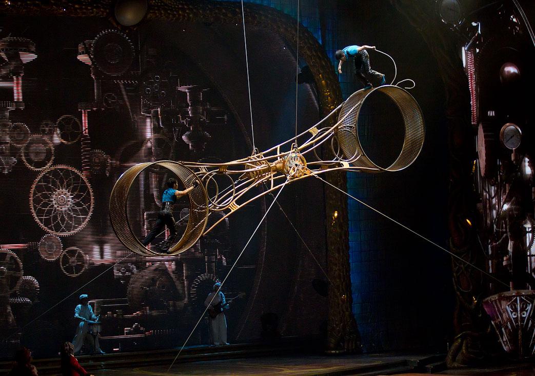 2639 Cirque du Soleil в Кремле