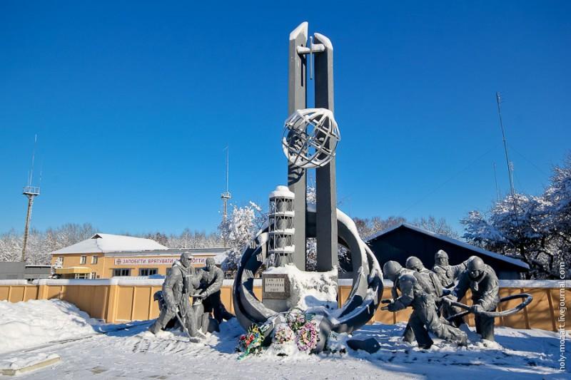 Зимний Чернобыль
