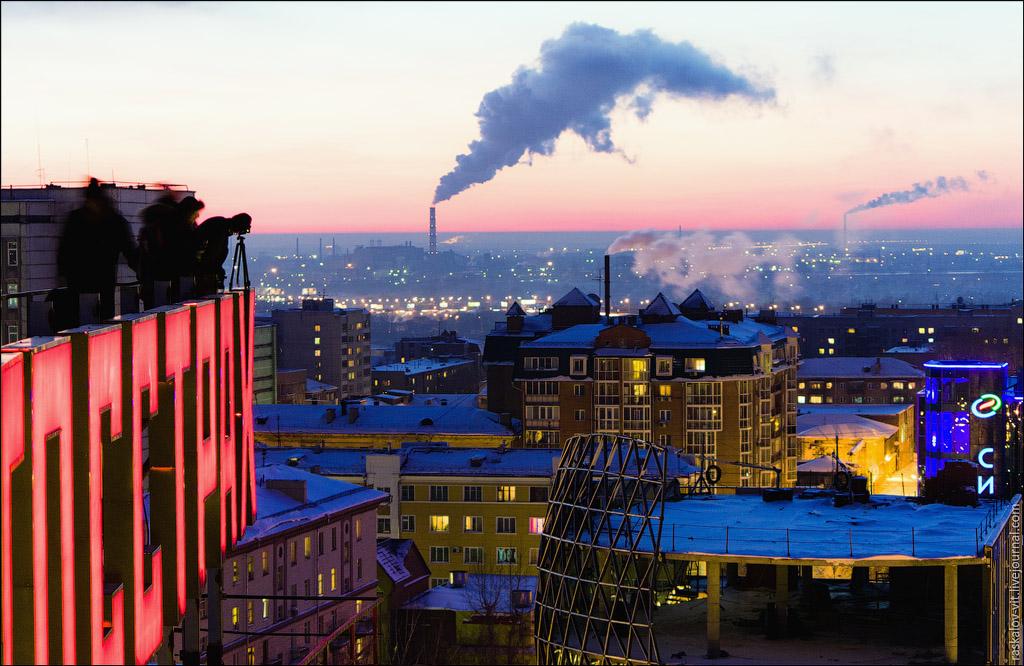 2729 Высотный Новосибирск от Виталия Раскалова