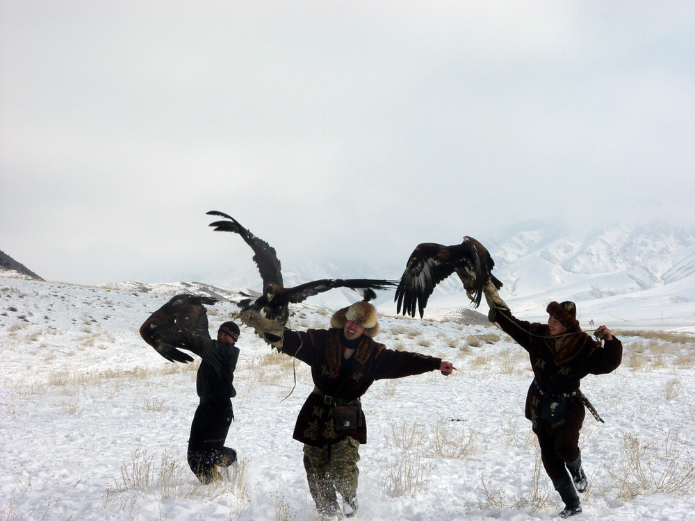 2829 Фоторепортаж с соревнований по охоте с ловчими птицами
