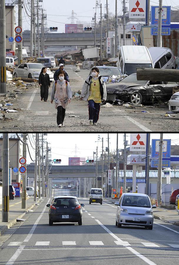 2841 Как Япония восстановилась после землетрясения и цунами