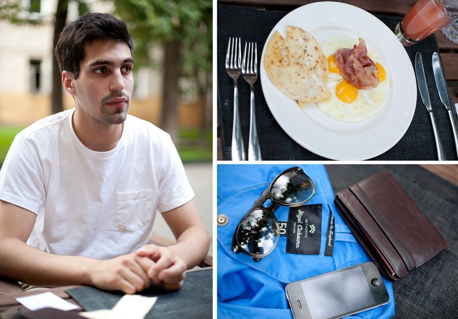2849 За завтраком