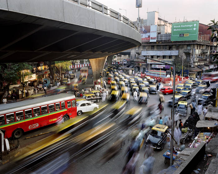 290.Work in Progress Bombay Суматоха больших городов в фотопроекте Metropolis