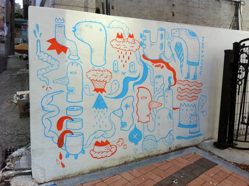 29190000 Абстрактный стрит арт от Junkhouse