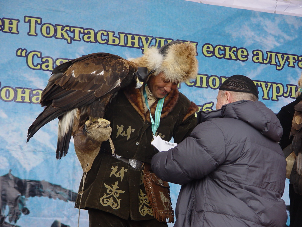 3028 Фоторепортаж с соревнований по охоте с ловчими птицами