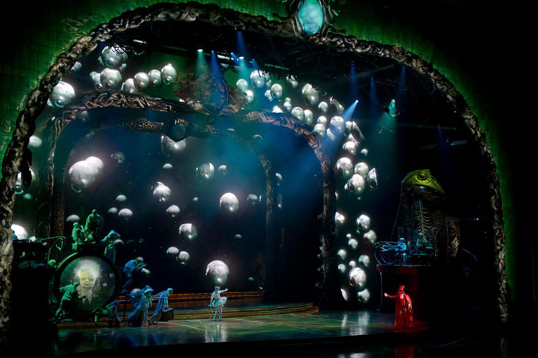 3034 Cirque du Soleil в Кремле