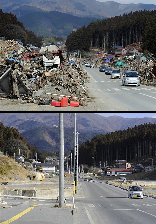 3038 Как Япония восстановилась после землетрясения и цунами