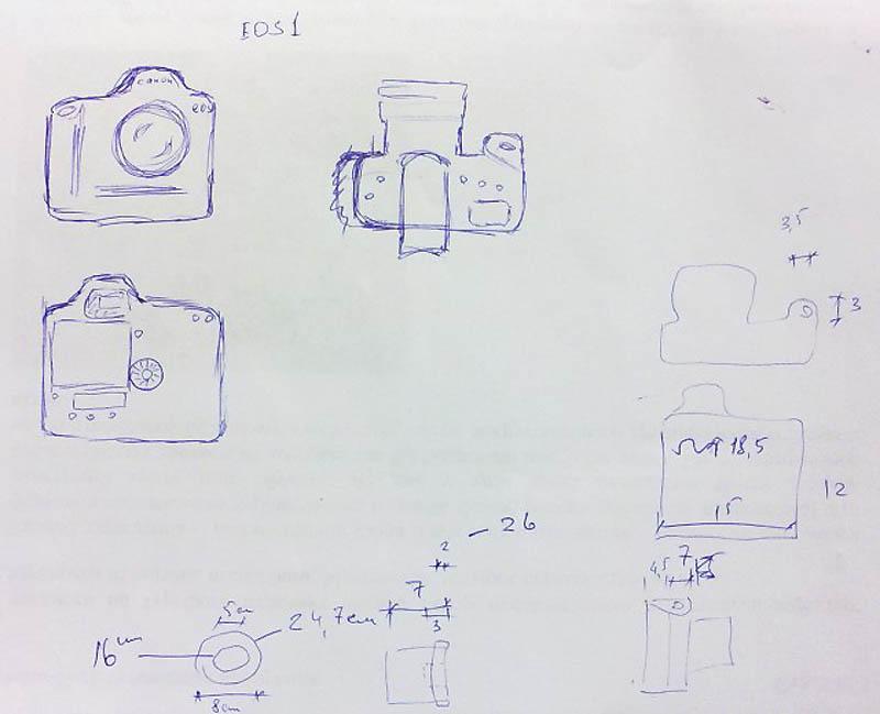 3129 Необычный подарок: фотоаппарат мягкая игрушка