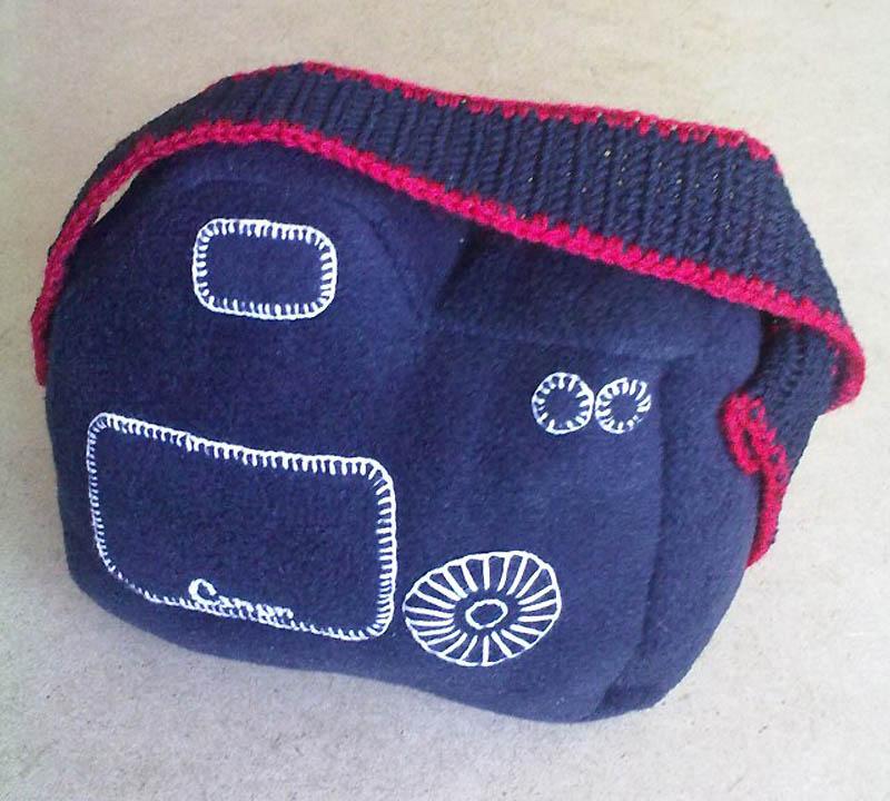 3130 Необычный подарок: фотоаппарат мягкая игрушка