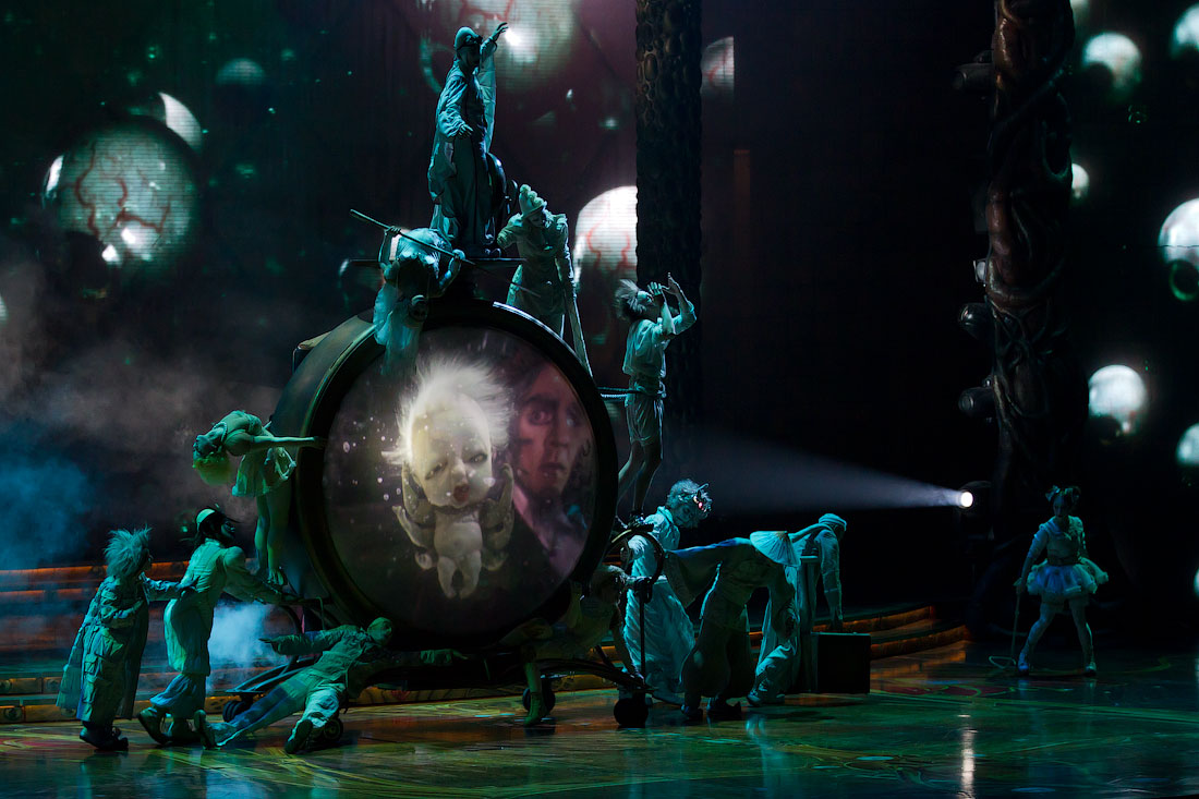 Cirque du Soleil в Кремле