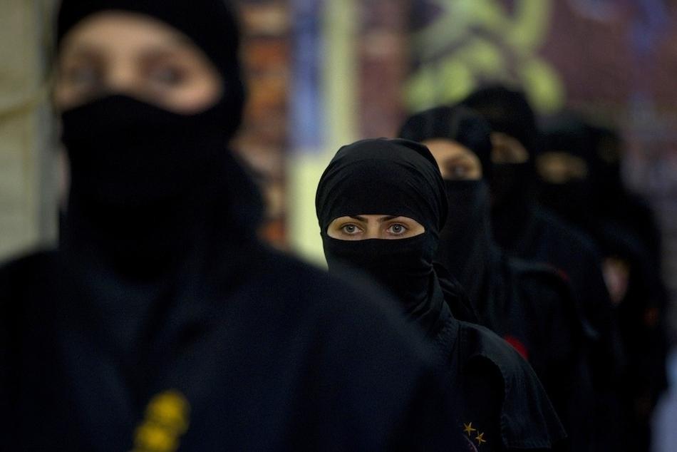 3184 Иранские женщины ниндзя