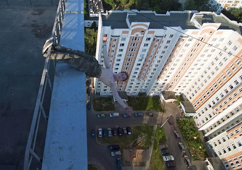 3193 Экстремальный городской альпинизм в России