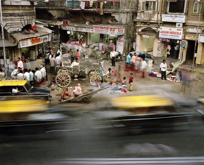 320.Work in Progress Bombay Суматоха больших городов в фотопроекте Metropolis