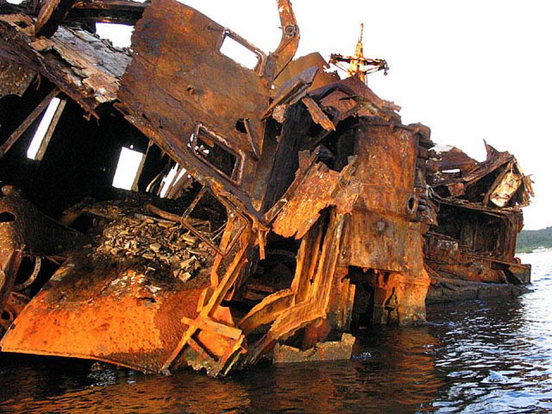 3220 Живописные последствия кораблекрушений