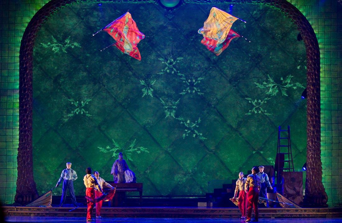 3226 Cirque du Soleil в Кремле