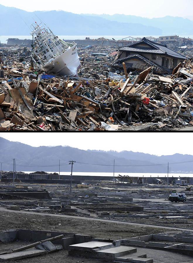 3230 Как Япония восстановилась после землетрясения и цунами
