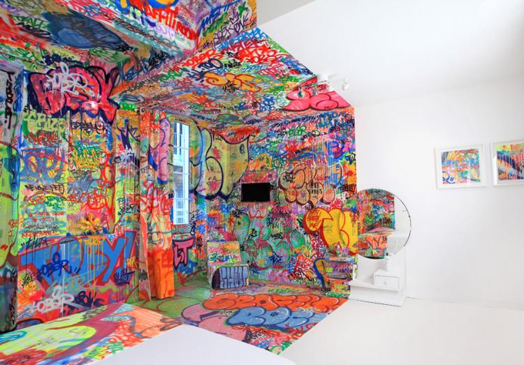 3271 Комната для любителей граффити