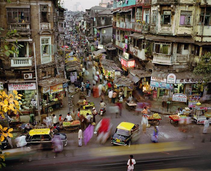328.Work in Progress Bombay Суматоха больших городов в фотопроекте Metropolis