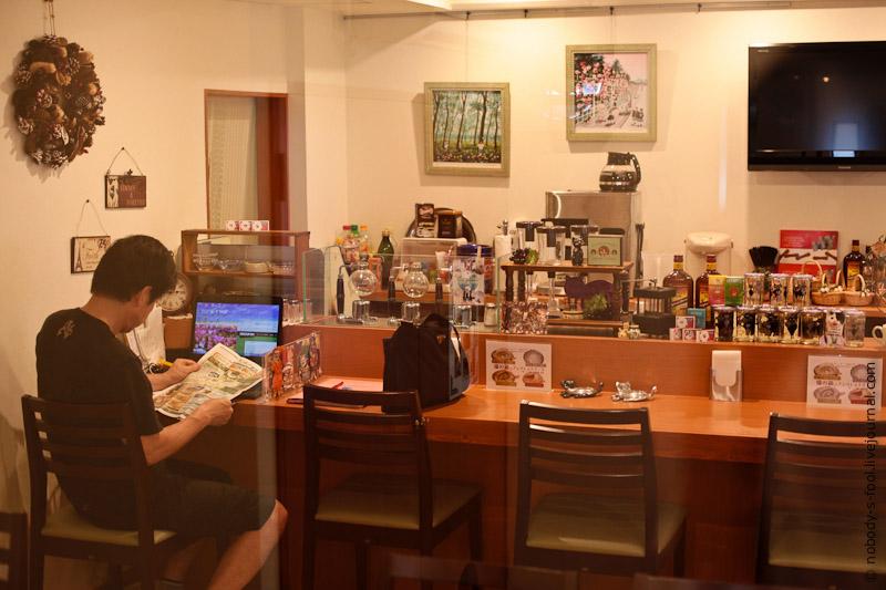 332 Кото кафе в Осаке   2