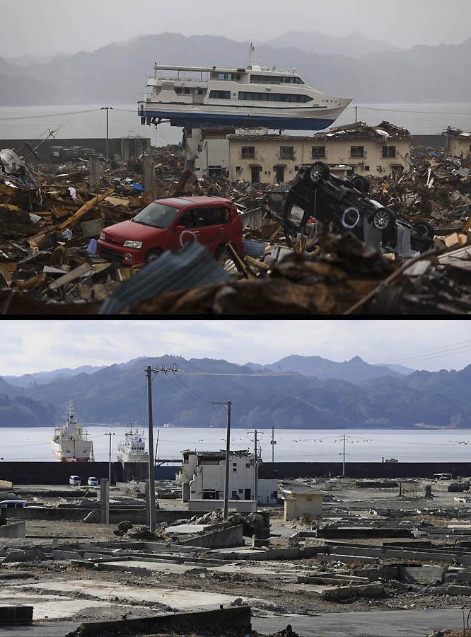3425 Как Япония восстановилась после землетрясения и цунами