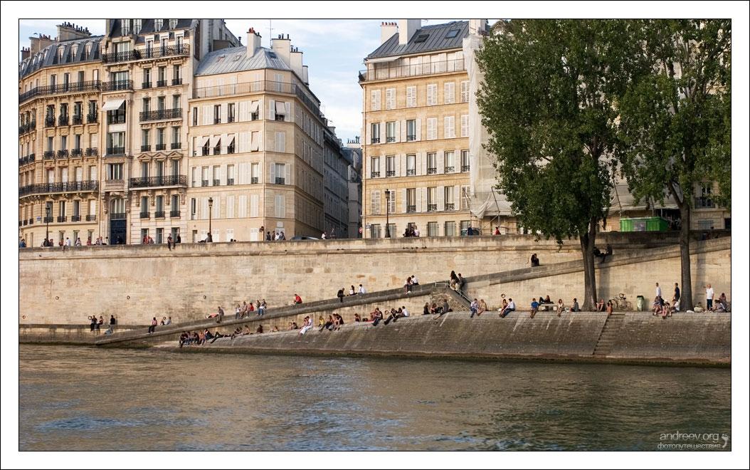 347 Париж: уличная жизнь