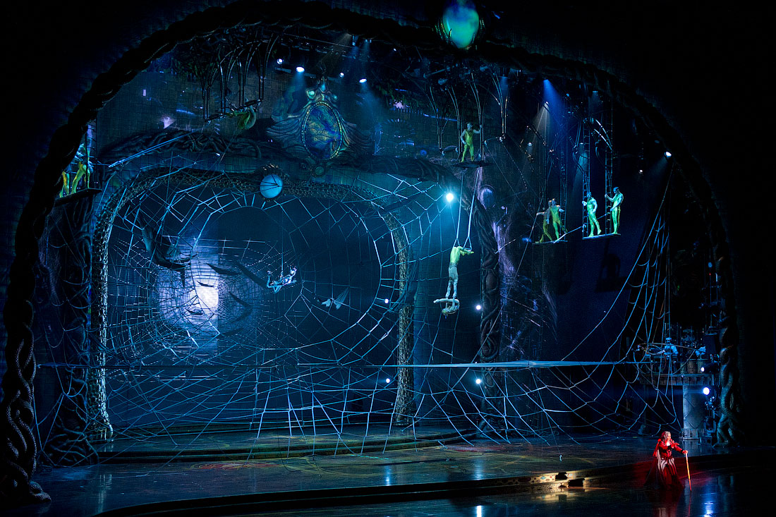 3519 Cirque du Soleil в Кремле