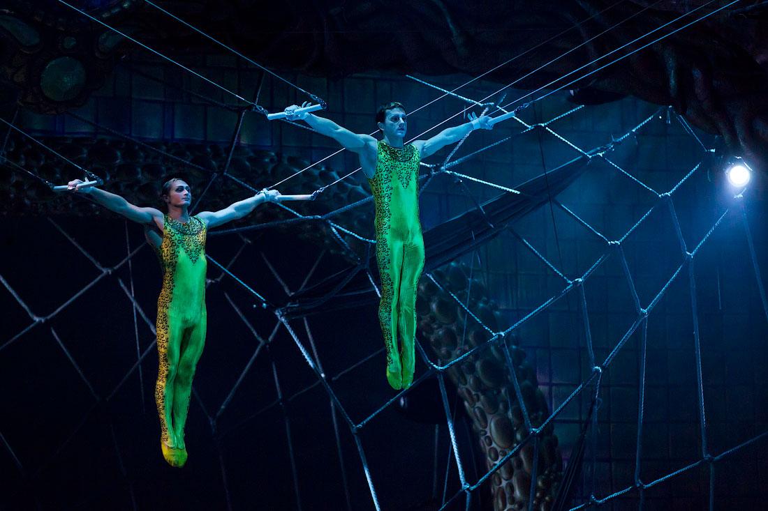 3618 Cirque du Soleil в Кремле