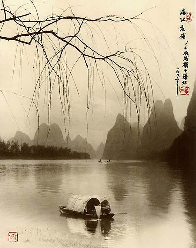 368 Фотографии в стиле традиционной китайской живописи