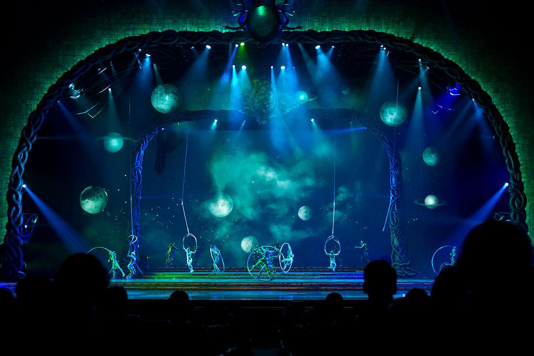 3718 Cirque du Soleil в Кремле