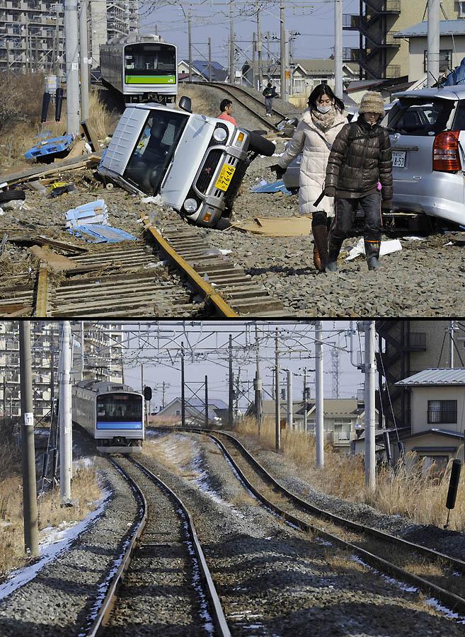 3720 Как Япония восстановилась после землетрясения и цунами