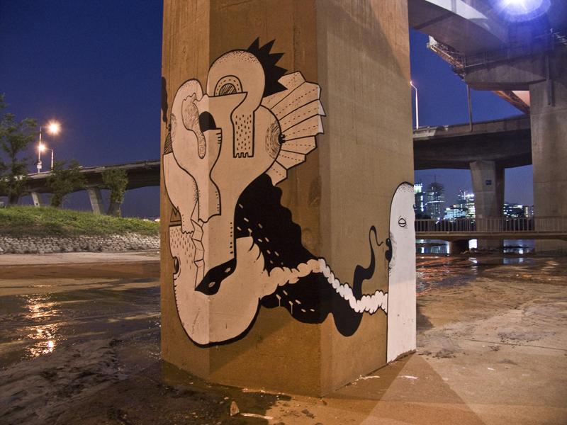 37800000 Абстрактный стрит арт от Junkhouse