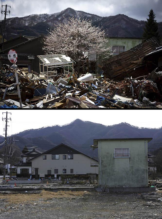 3916 Как Япония восстановилась после землетрясения и цунами