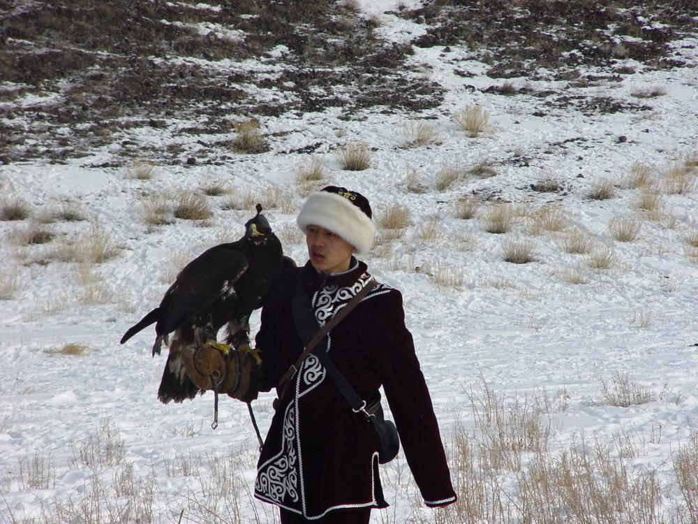 4124 Фоторепортаж с соревнований по охоте с ловчими птицами