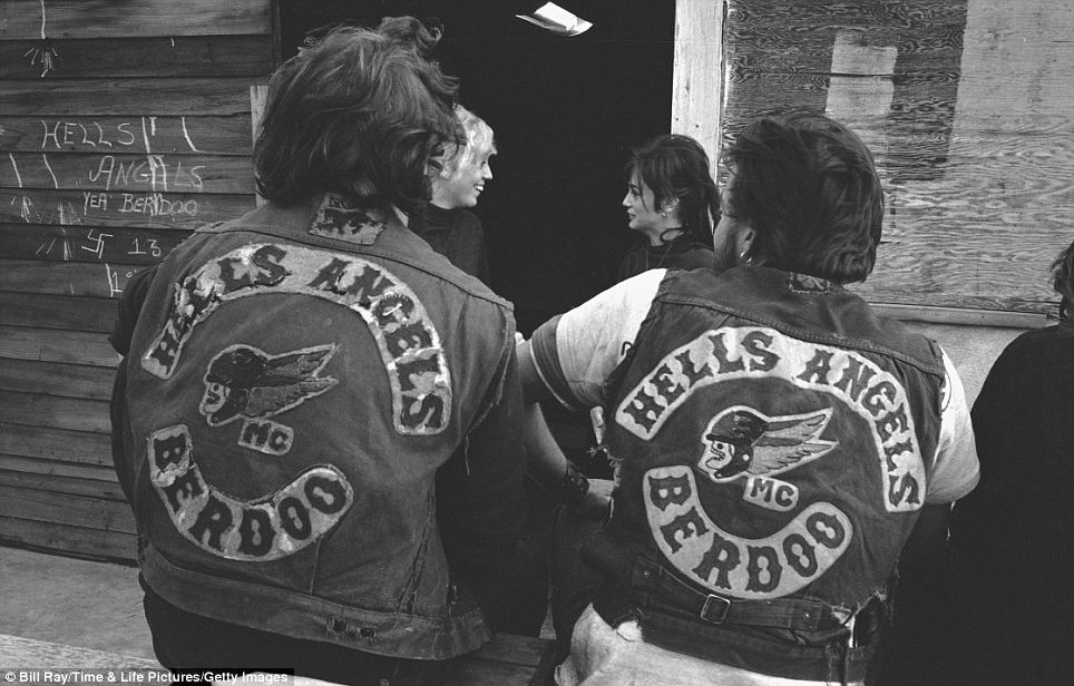 413 Фотографии байкерского клуба Ангелы ада, 1965 год