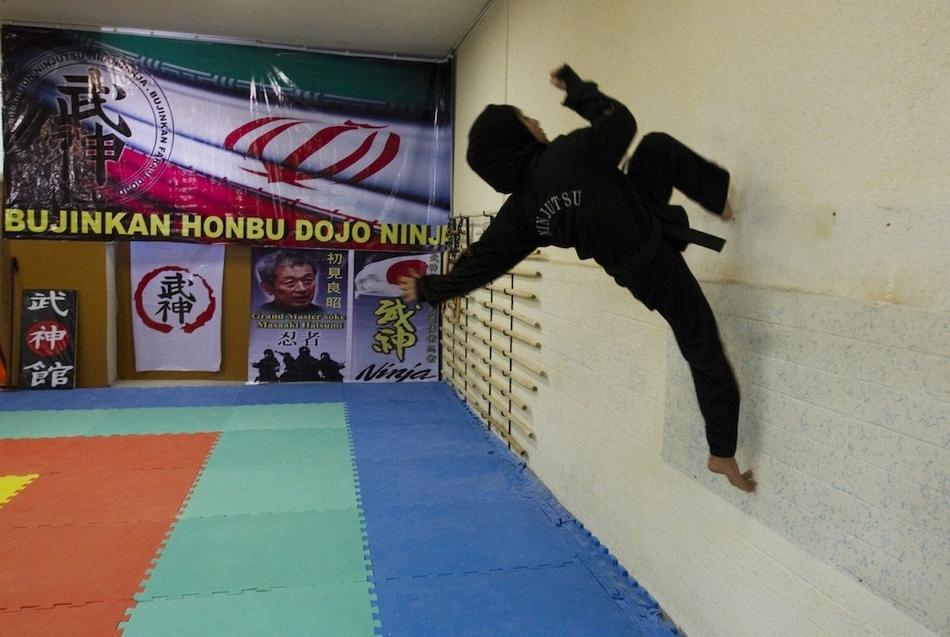 4154 Иранские женщины ниндзя