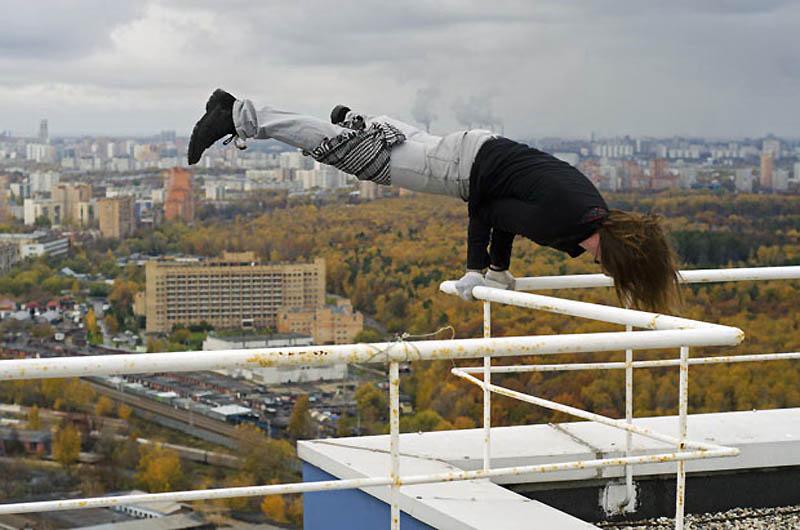 4162 Экстремальный городской альпинизм в России