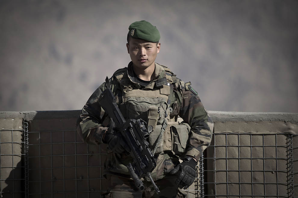 4164 Портреты бойцов Иностранного Легиона