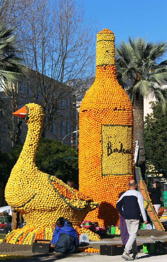 4166 Цитрон   лимонный фестиваль во Франции