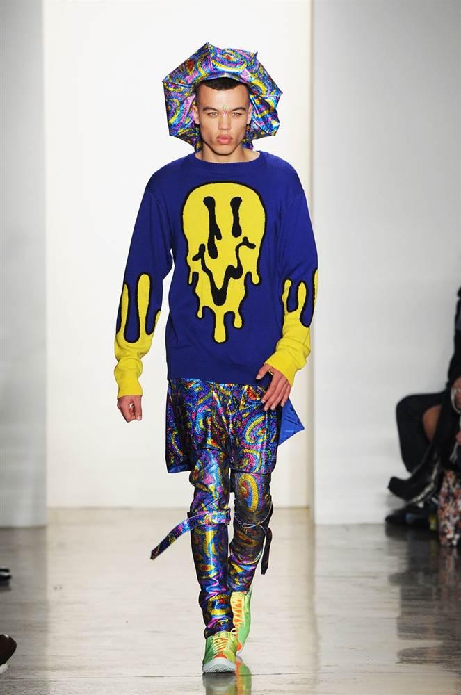 4176 Странные наряды на Нью йоркской неделе моды