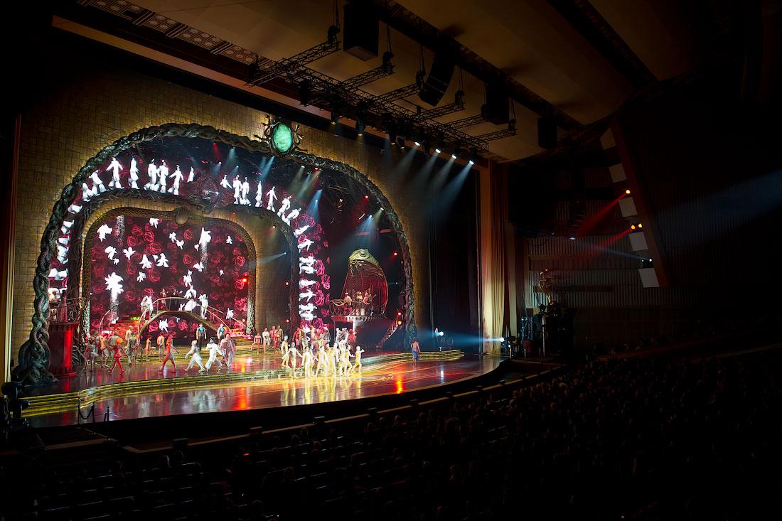 4217 Cirque du Soleil в Кремле