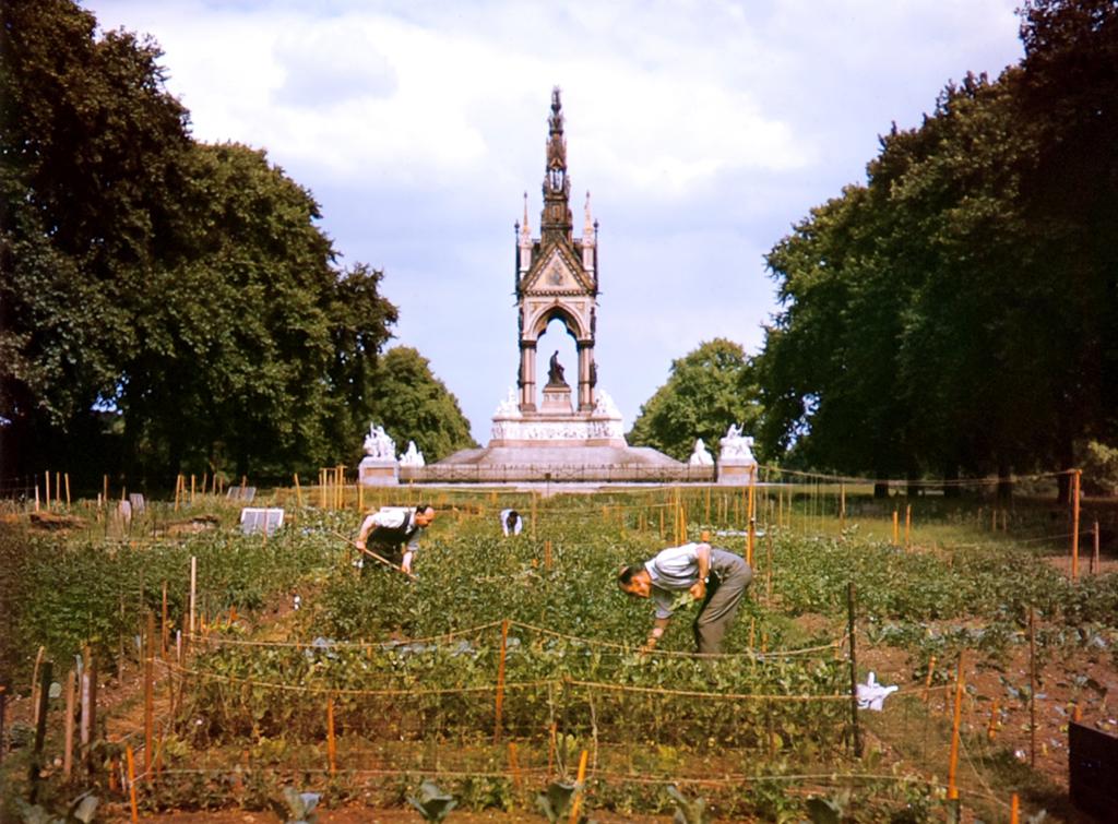 430 Цветные фото Лондона времен Второй мировой